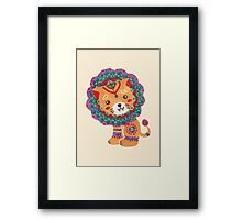 The Little King of the Jungle Framed Print