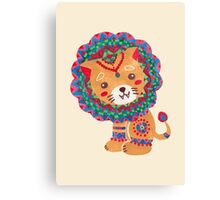 The Little King of the Jungle Canvas Print