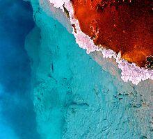 #548      Geothermal Pool In Yellowstone #3 by MyInnereyeMike