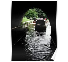 Chirk Tunnel Poster