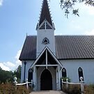 Church, Round Top, TX by SuddenJim