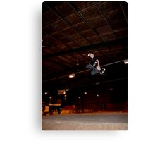 Huge Grab Air Over Death Box Canvas Print