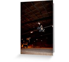 Huge Grab Air Over Death Box Greeting Card