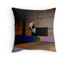 Front Side Stan Grab Throw Pillow