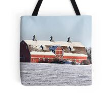 The Three Cupola Barn Tote Bag