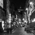 Late Night Shoppers in Florence by Cliff Williams