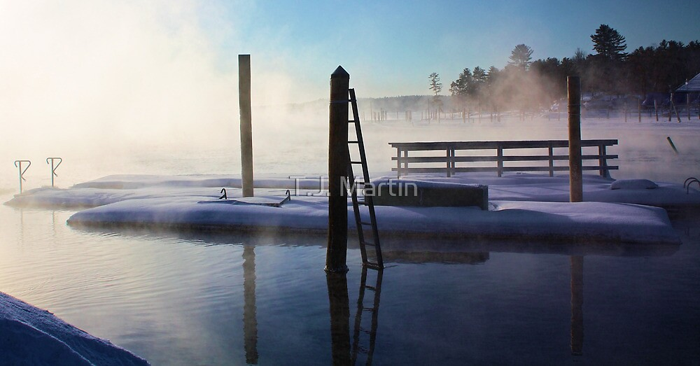 -Open Water - Brandy Pond by T.J. Martin