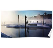 -Open Water - Brandy Pond Poster