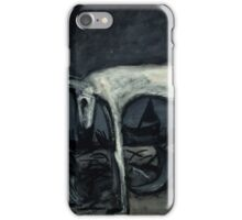 the old blind guard dog..90cmx70cm iPhone Case/Skin
