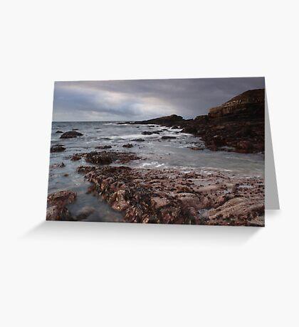 irish atlantic shore Greeting Card