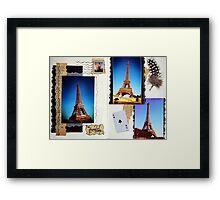 Les Pages de la Tour Framed Print