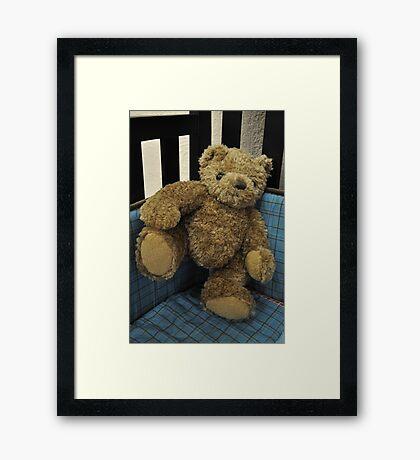 Teddy Marching Framed Print