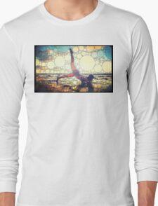 Yoga art 8 Long Sleeve T-Shirt