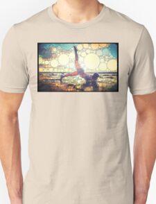 Yoga art 8 Unisex T-Shirt