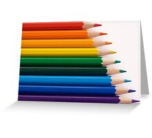 Draw In Colour Greeting Card