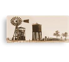 #554  Farm Scene 1880 Metal Print