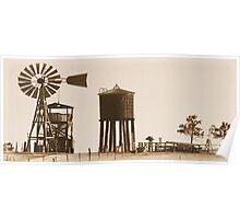 #554  Farm Scene 1880 Poster