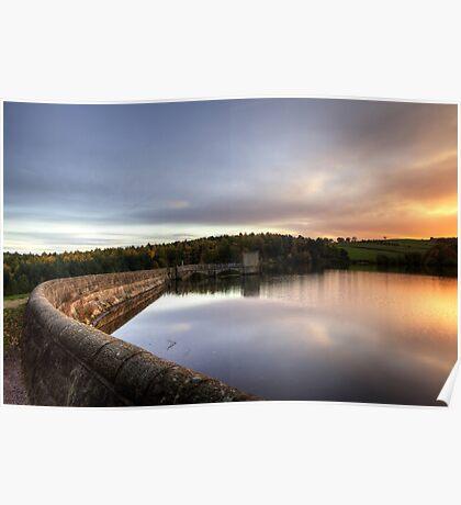 Linacre Reservoir Derbyshire Poster