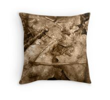 colony-in the backyard Throw Pillow