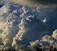 Faces in the clouds by Lee Gunderson