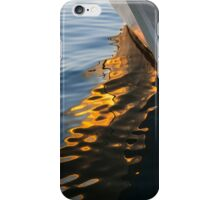 Reflecting on Yachts and Sunsets iPhone Case/Skin