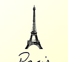 Paris Card by Claire Dimond