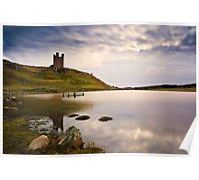 Dunstanburgh Castle, Northumberland Coast. UK Poster