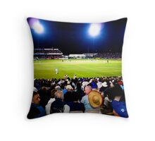 Old Trafford by Night Throw Pillow