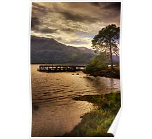 Rowardennan Evening (1) Poster