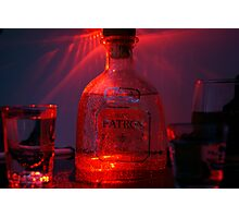 Patrón in Red Photographic Print