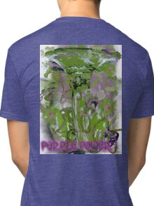 PURPLE POWER Tri-blend T-Shirt