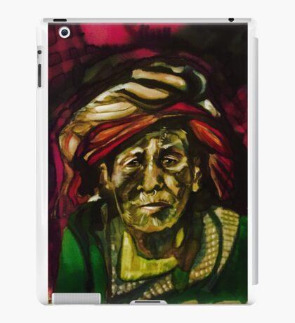 Nepali elder iPad Case/Skin