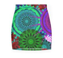 Fusion Of Colors - Exclusive DeCore Mini Skirt