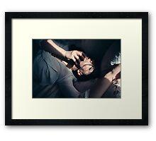 Nude Girl - NudeART Framed Print