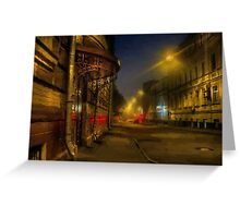 Moscow steampunk (sketch) Greeting Card