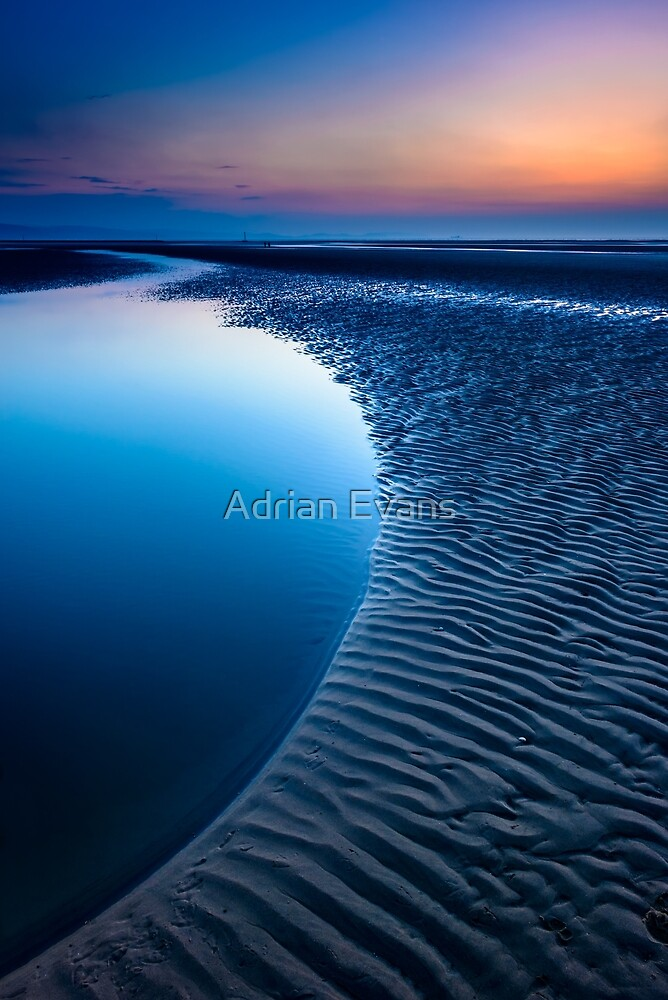 Blue Beach by Adrian Evans