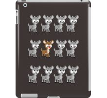 LOOK! It's Rudolph! v2 iPad Case/Skin