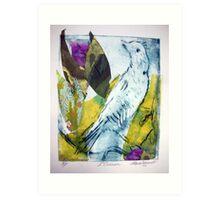 L'Oiseau Jaune Art Print