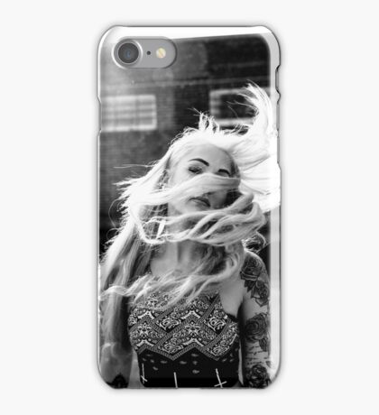 Tattoo Women - Portrait iPhone Case/Skin