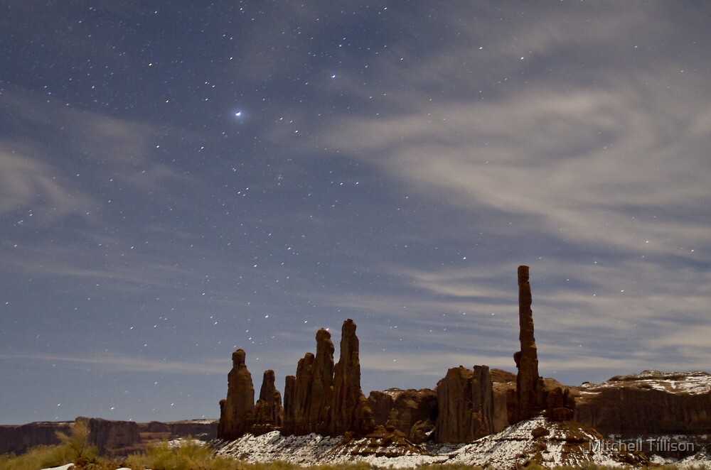Starry Night: Yei bi Chei and the Totem Pole  by Mitchell Tillison