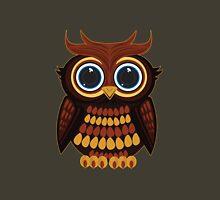 Friendly Owl - Green Unisex T-Shirt