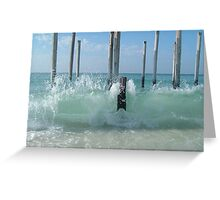 Destin Waves Greeting Card