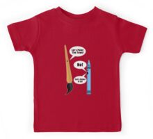 Lets Paint The Town! - Red Kids Tee