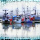 Fishing Fleet, Yaquina Bay. by aussiedi
