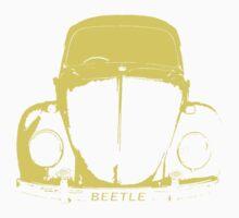VW Beetle - Yellow Kids Tee
