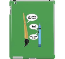 Lets Paint The Town! - Green iPad Case/Skin