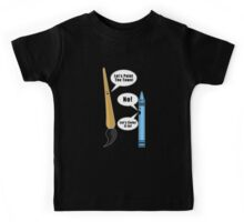 Lets Paint The Town! Kids Tee