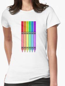 Rainbow Crayon T-Shirt