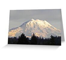 Fabulous Mount Rainier Greeting Card