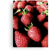 Strawberry Bliss Canvas Print